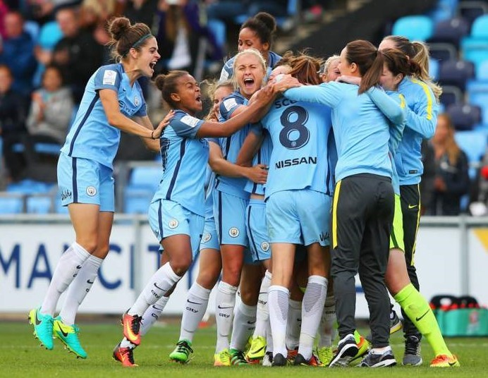 Manchester City Ladies er engelske mestre